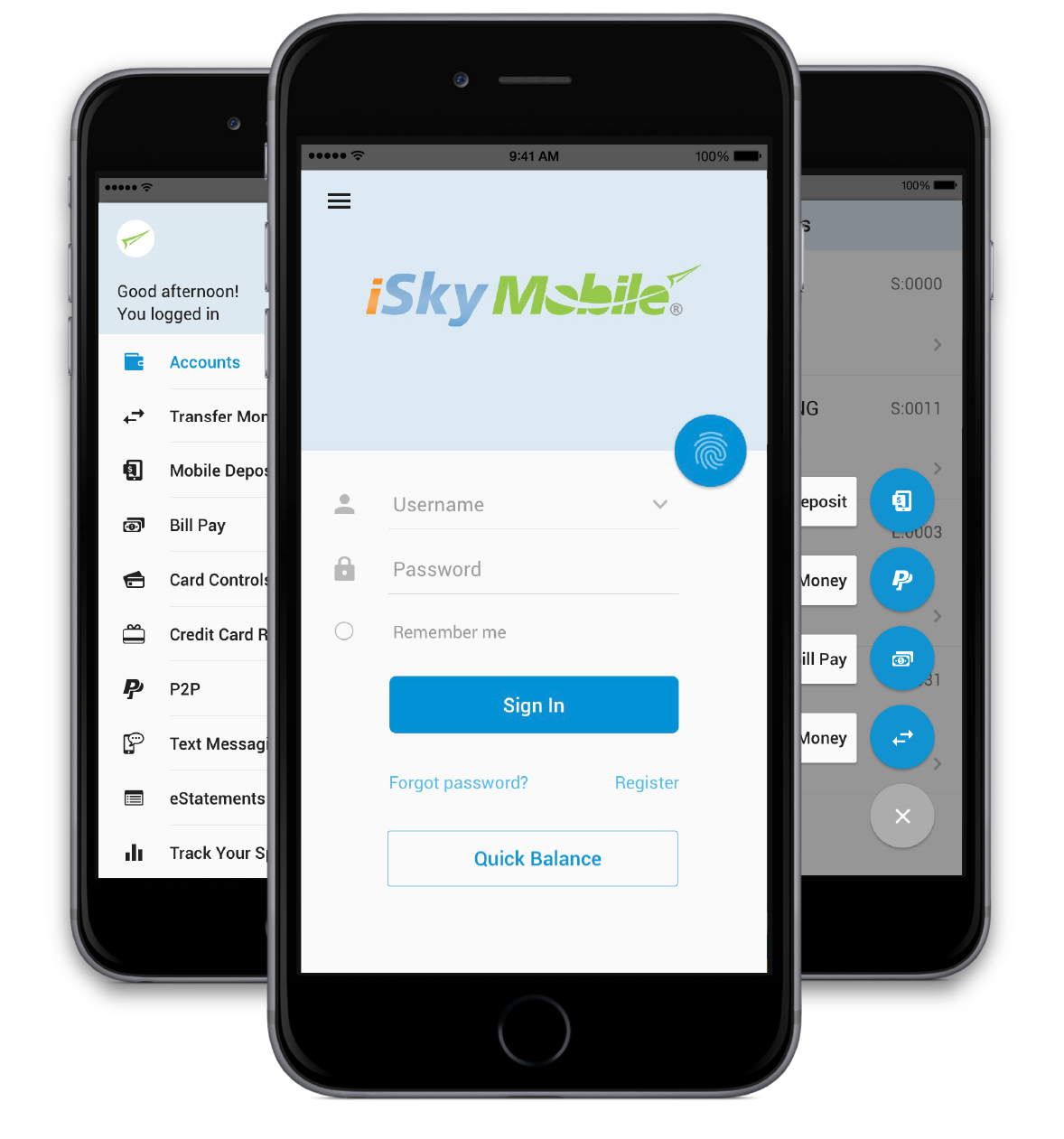Download the iSky Mobile app!