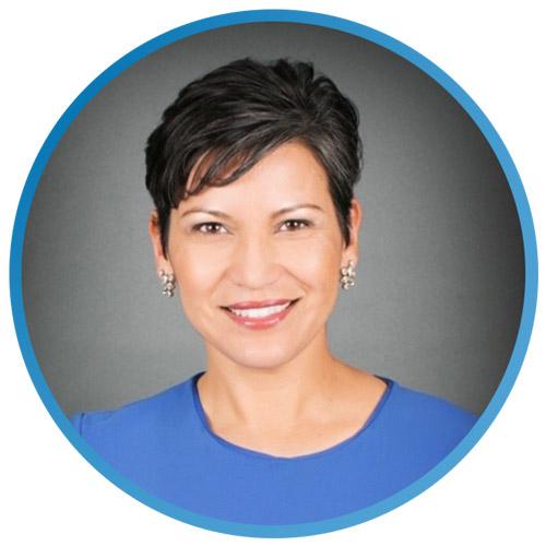 SkyOne business development officer Dina Earl portrait