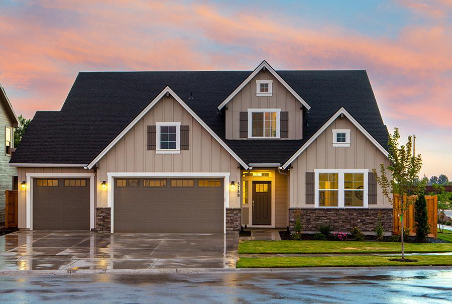 Home financed with SkyOne