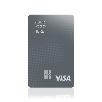 Platinum Rewards Card with your logo instead